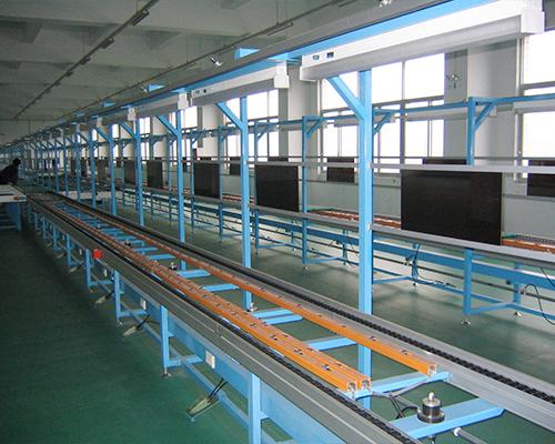 华福液晶电视装配线